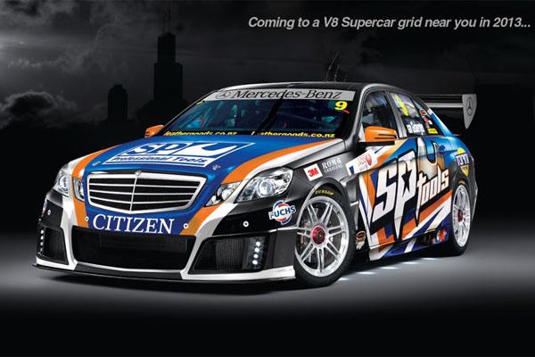 Mercedes Benz V8 Supercars 2013