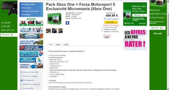 Xbox One Edition Forza Motorsport 5