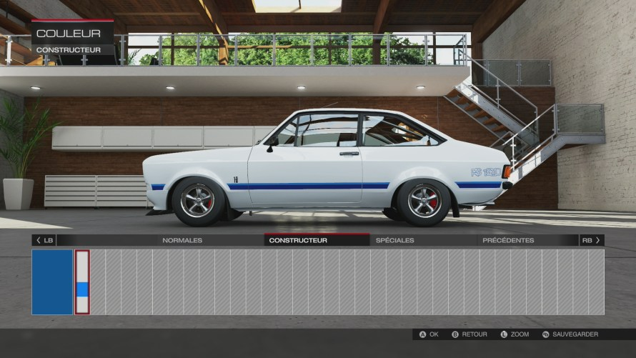 Une seule couleur pour la Ford Escort RS 1800!