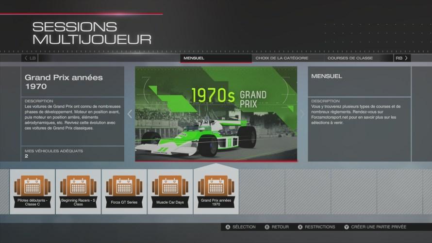 Forza 5 Grand Prix 1970