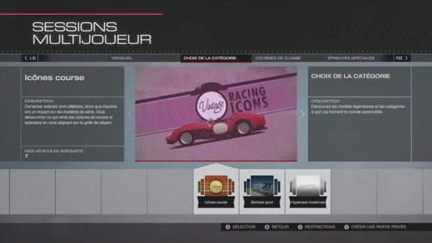 Forza 5 Icones de Course
