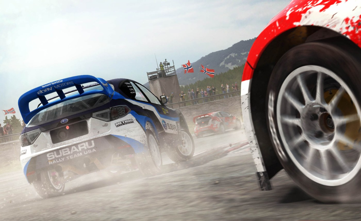 mise à jour dirt rally xbox one
