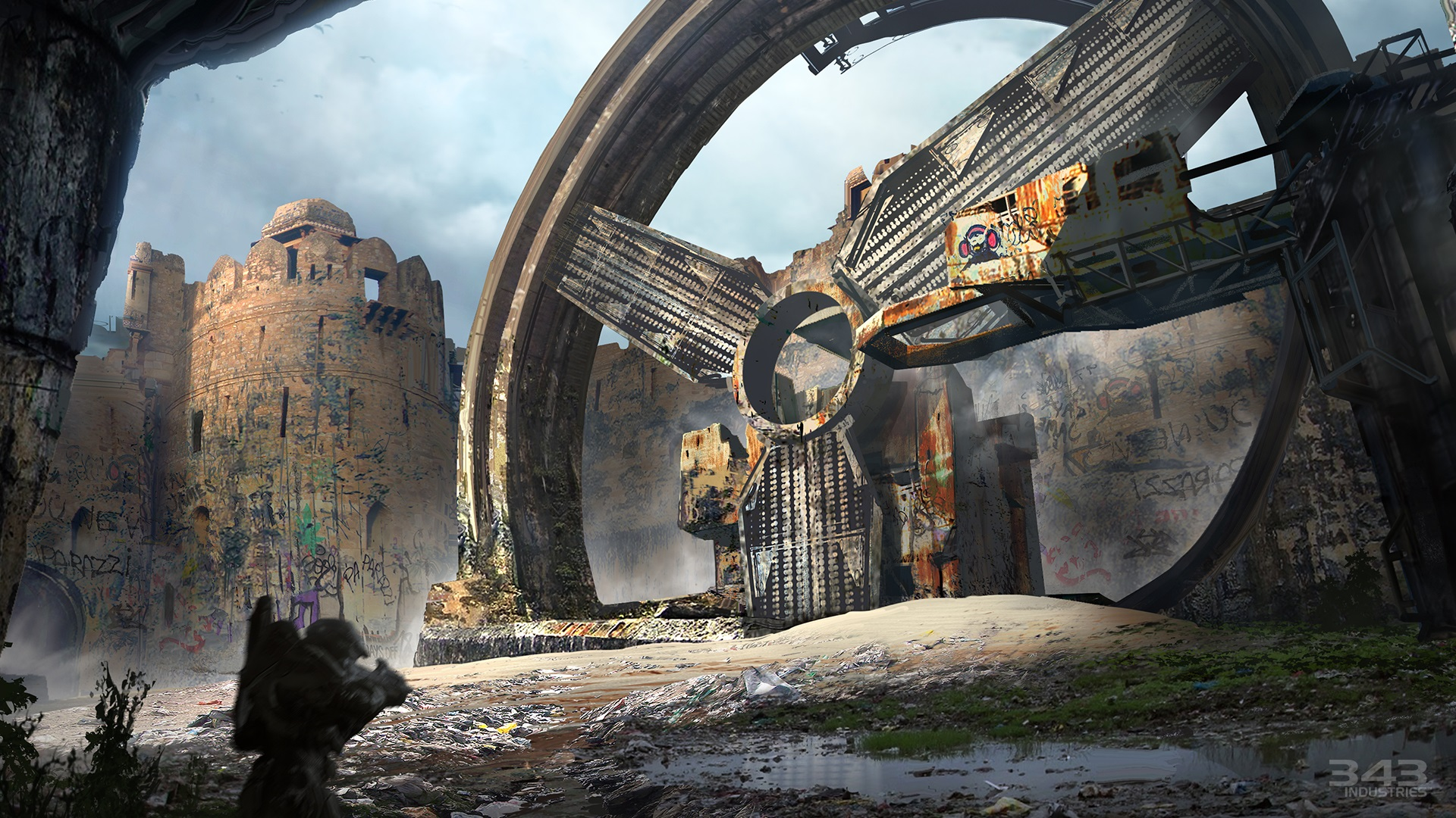 Halo 2 Anniversary La Map Zanzibar Remasterise En