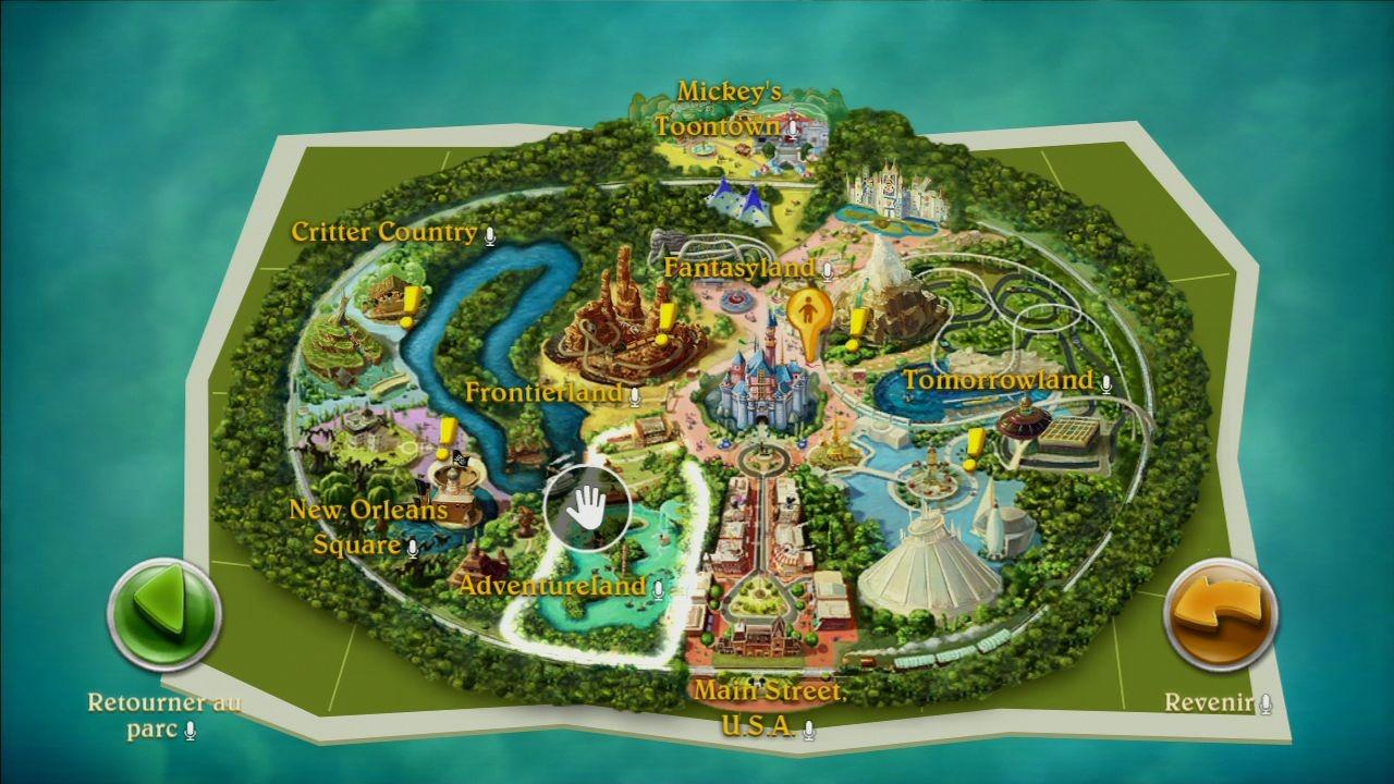 Test Kinect Disneyland Adventures Xbox One Xboxygen