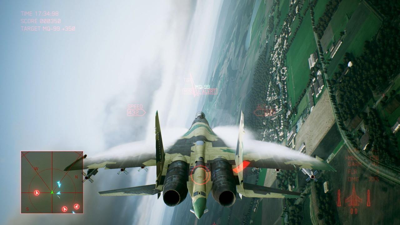 Ace Combat 7 Une Grosse Srie Dimages En Plein Air