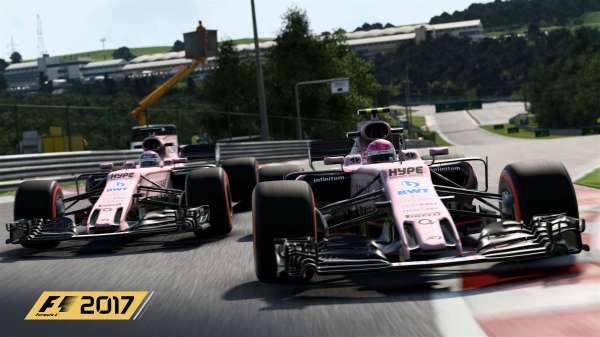 F1 2017 Sera En 4k 60 Fps Sur Xbox X