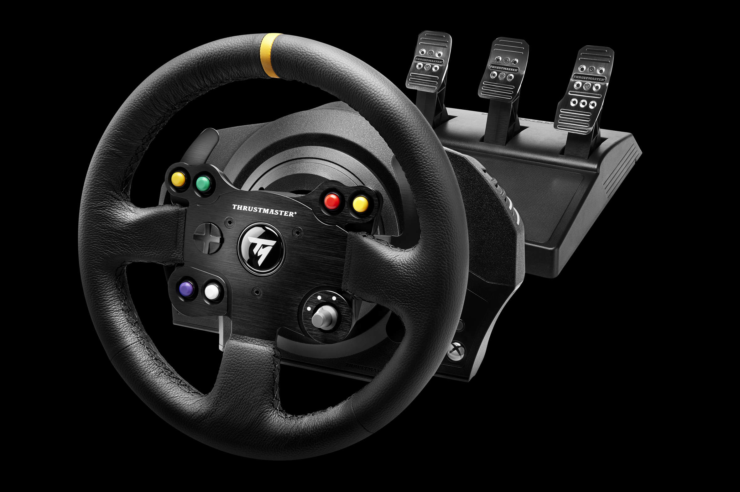 Thrustmaster Annonce Le Volant Xbox One TX Racing Wheel Leather Edition Xbox One Xboxygen
