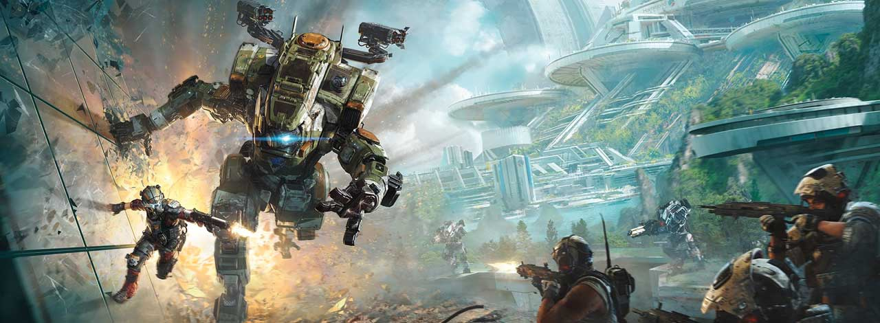 Fall Facebook Wallpaper Titanfall 2 Pas Cross Platform Mais Partenaire De
