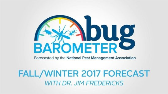Bug Barometer logo. Xcellence Inspection Services. Spots in your house Chicago