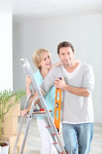 A couple with ladder | Xcellence Inspection Services | Home Design Chicago