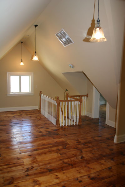 Victorian Painted Lady Attic  Xcelrenovation