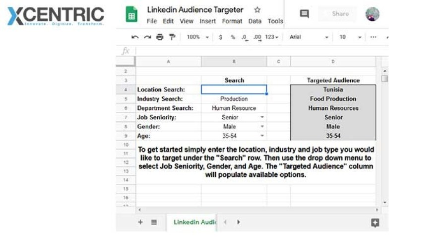 Who can you TARGET with LinkedIn Advertising