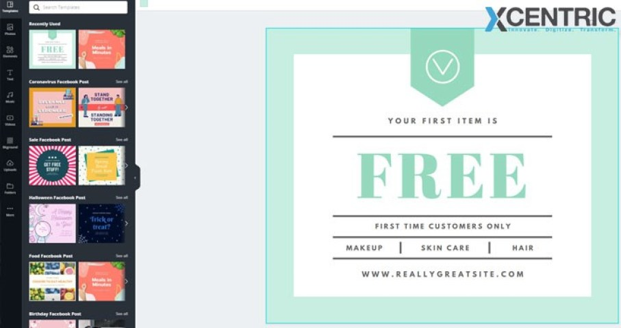 tools like Canva are a blessing for marketers in demand for graphics