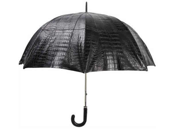 Billionaire Couture Crocodile Skin Umbrella