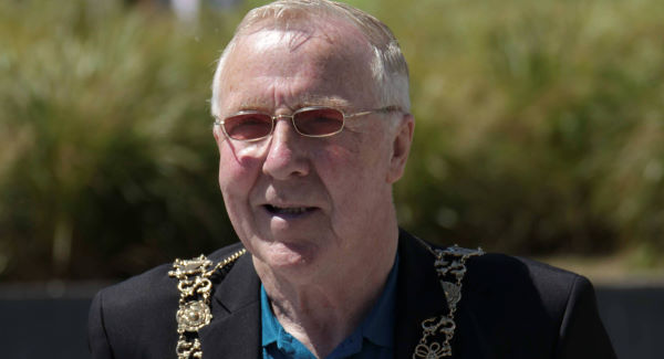 The Lord Mayor of Dublin, Christy Burke