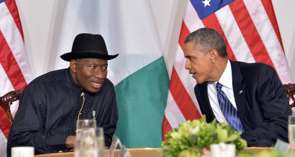 President Obama tells President Jonathan it's all over