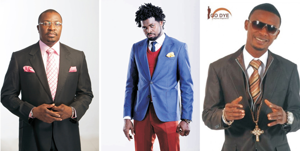 Nigerian Comedians: Ali Baba, Basketmouth and I Go Dye