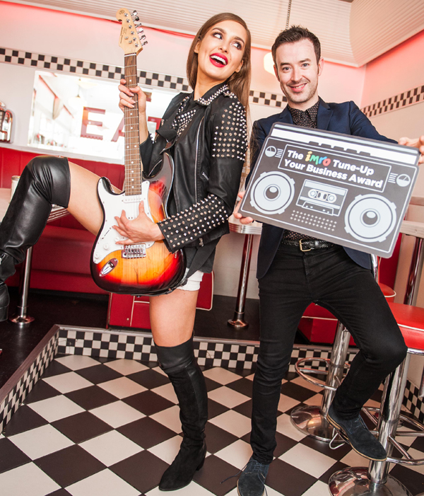 Roz Purcell & Paddy McKenna bring music to the workplace as IMRO launch the