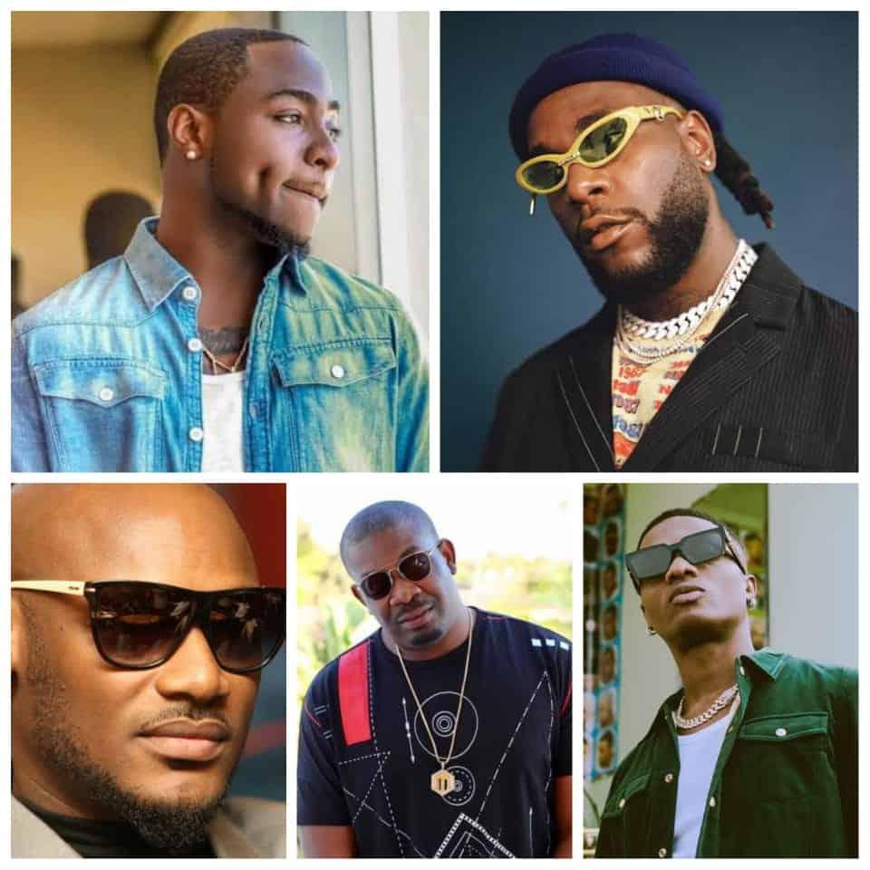 Meet Top 5 Nigerian Richest AfroBeat Artiste