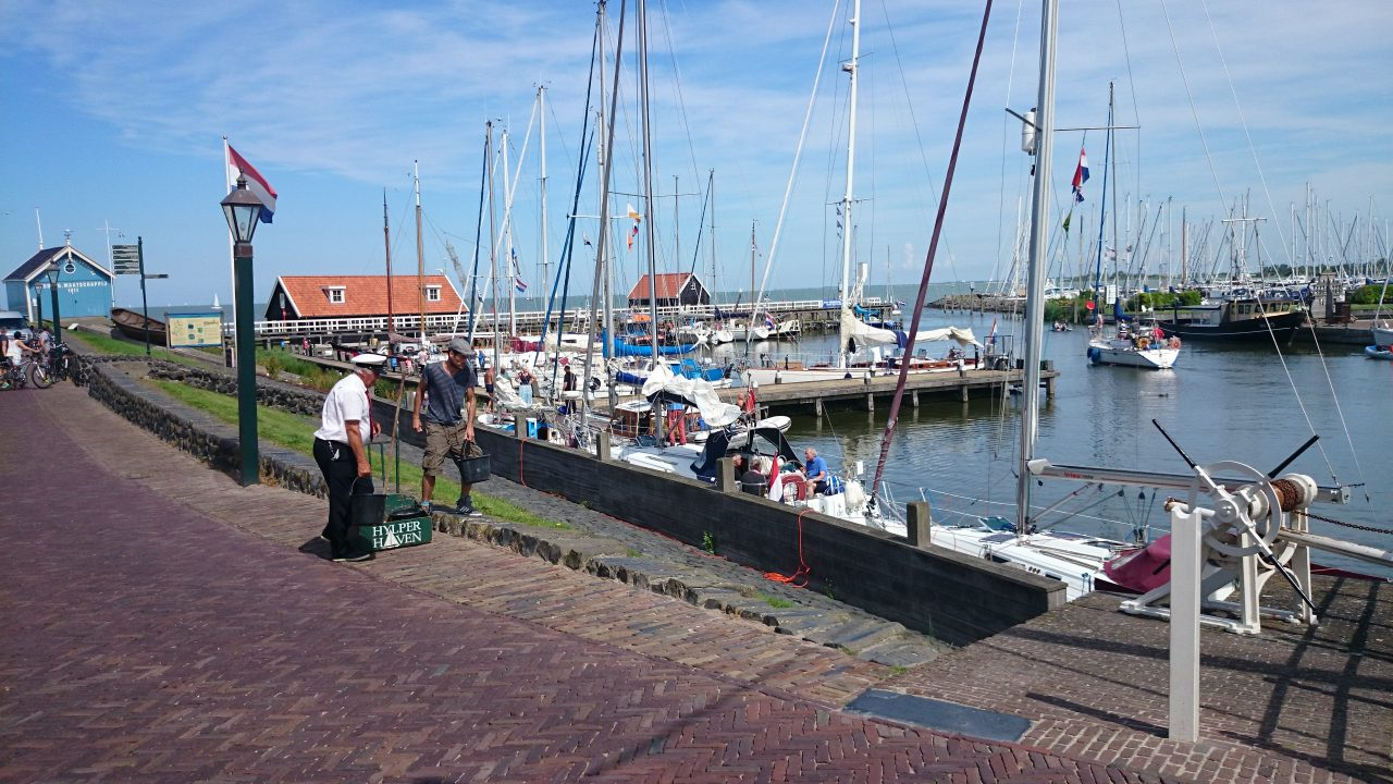 Hindeloopen old harbor