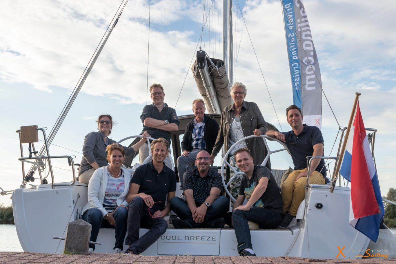 Xclusive Sailing Expeditie deelnemers