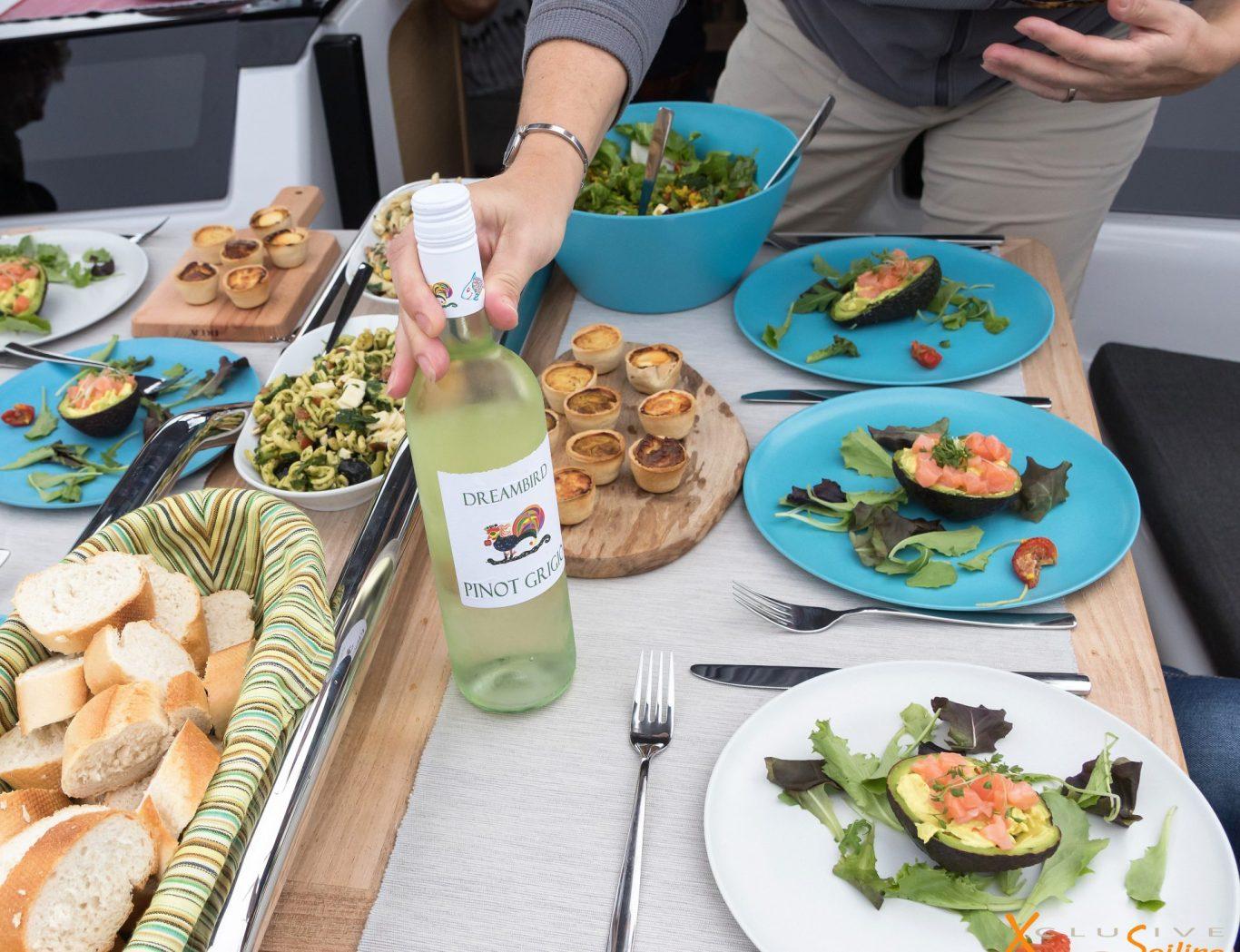Xclusive Sailing Uitgebreide Lunch met wijn