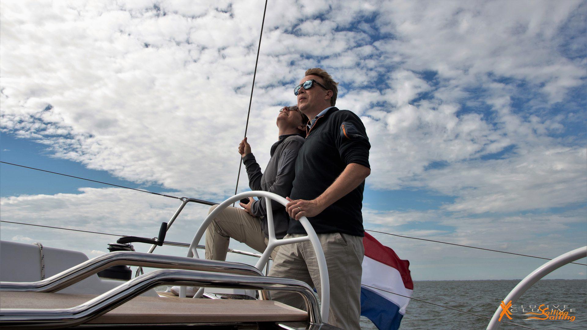 Xclusive Sailing Zelf aan het roer
