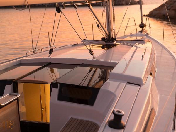 Xclusive Sailing Yacht Hanse 418 Deck