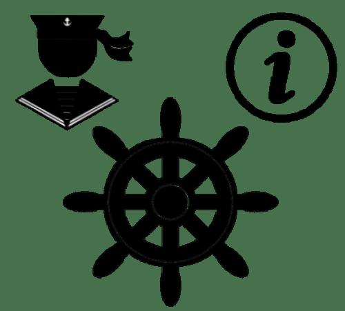 Zeilen met schipper en instructie