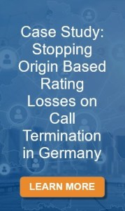 Case Study: Stopping Origin Based Rating Losses on Call Termination in German