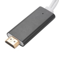Lightning USB Cable Digital AV Adapter HDMI HDTV Display ...