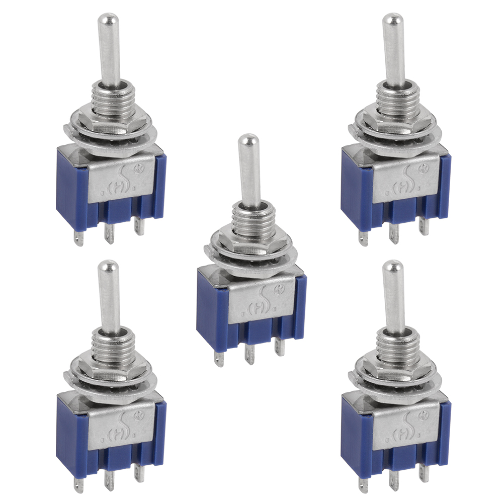Miniature Toggle Switch Spdt Onoffon 6a