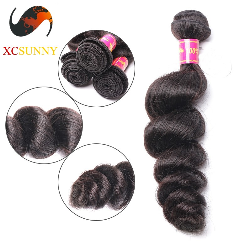 Wholesale 12 26 Inch 5A Deluxe Loose Wave 100 Brazilian