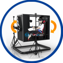 flight simulator chair 360 power chairs for sale zhuoyuan 720 degree vr with game why choose