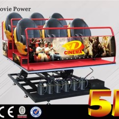 Flight Simulator Chair Motion Best Hammock Stand 6dof Platform 5d Movie Theater With Seat