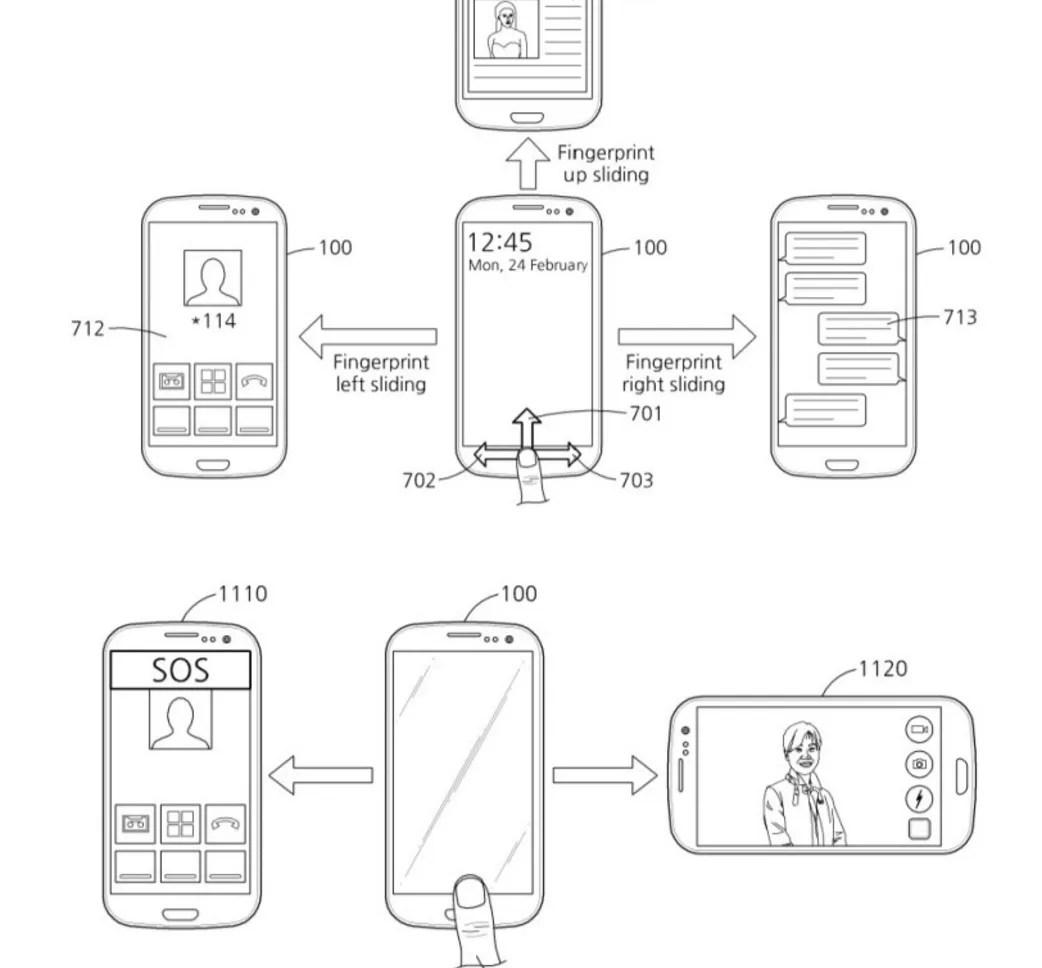 South Korea Grants Samsung A Patent On Fingerprint Scanner