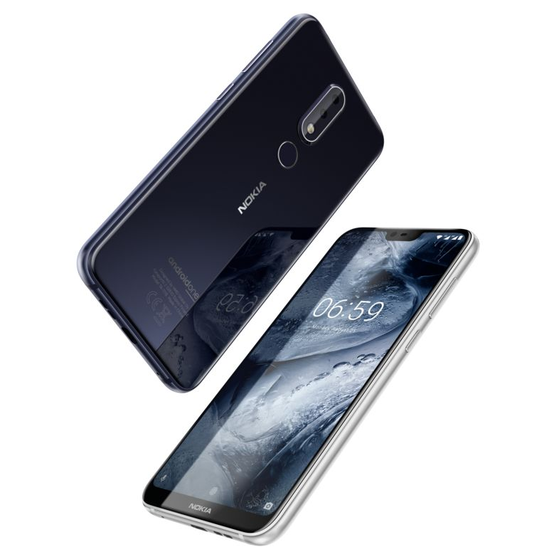 Iphone X Stock Wallpaper Xda Nokia 6 1 Plus And Nokia 5 1 Plus Launched In India With