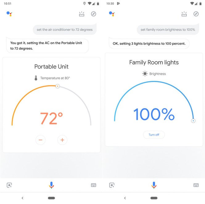 google assistant smart home