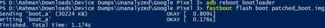 Google Pixel 3 install Magisk
