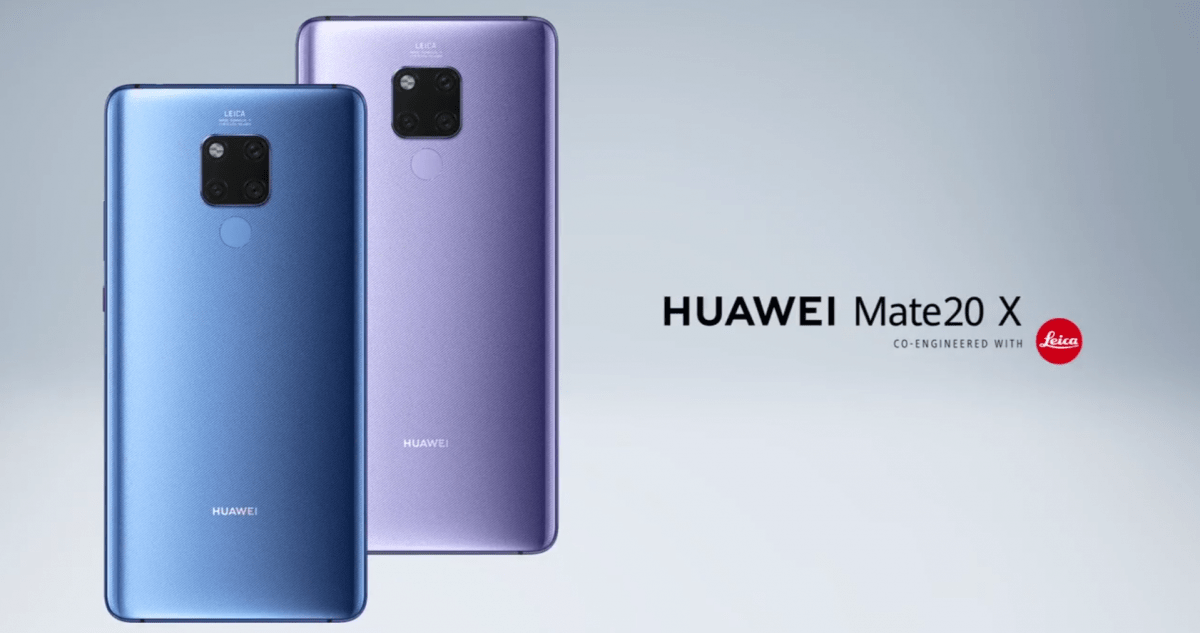 Huawei Mate 20 X is a 7.2-inch giant to take on the Samsung Galaxy Note 9