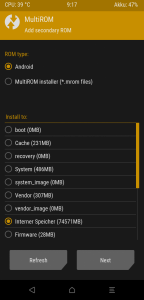 Xiaomi POCO F1 MultiROM mod
