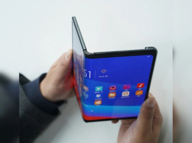 OPPO's foldable phone gets teased, and it resembles the Huawei Mate X