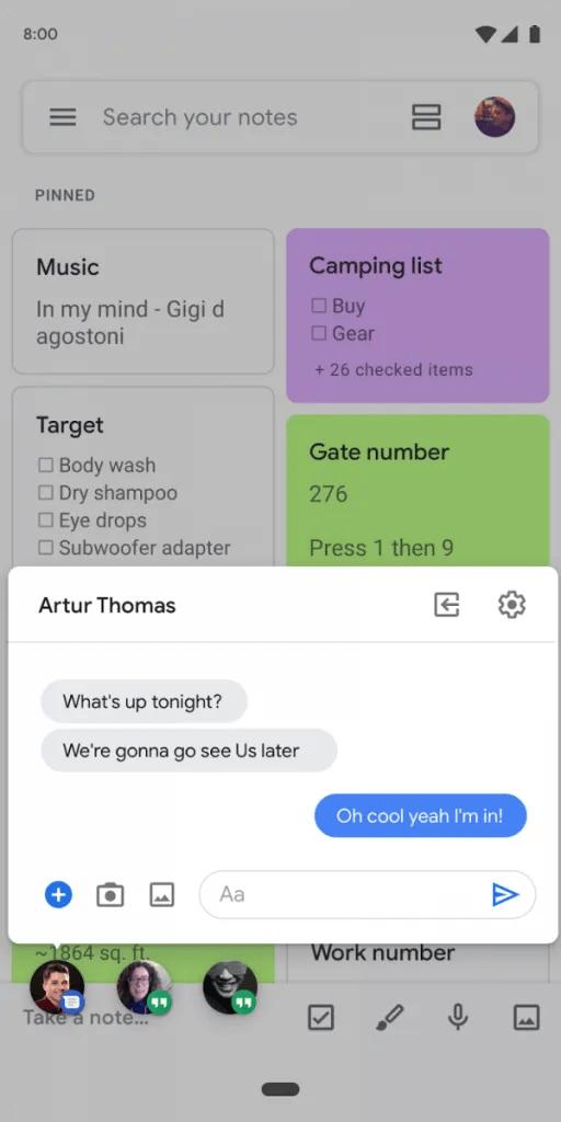 Android Q bubbles API