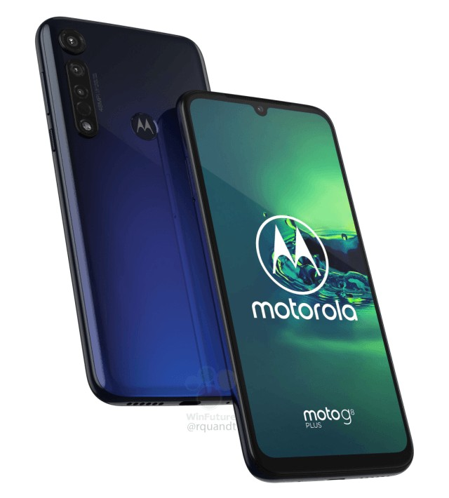 Moto G8 Plus leaked render