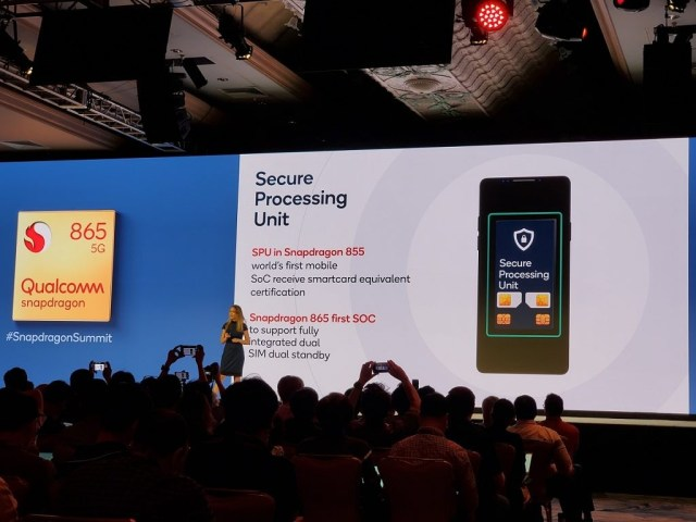 Qualcomm Snapdragon 865 Dual SIM, Dual Standby support in the Secure Processing Unit
