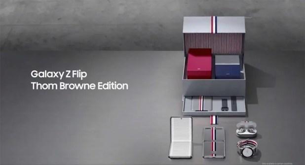 Samsung Galaxy Z Flip Édition Thom Browne