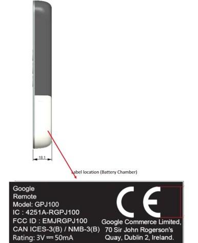 Chromecast Ultra second gen TV remote