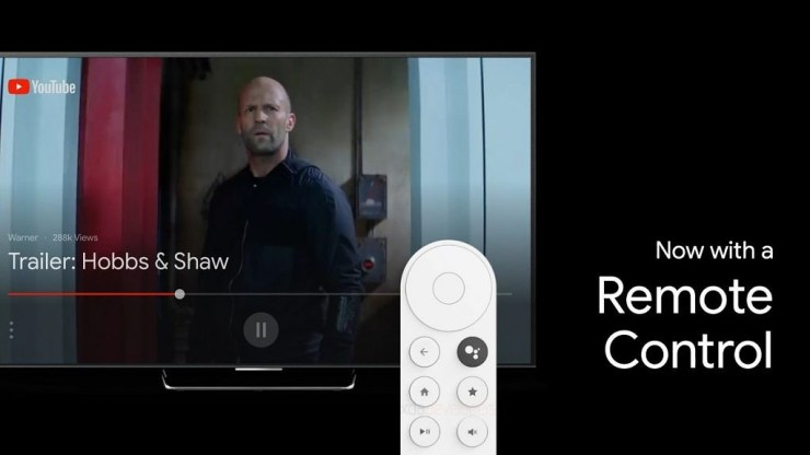 Google Android TV dongle remote