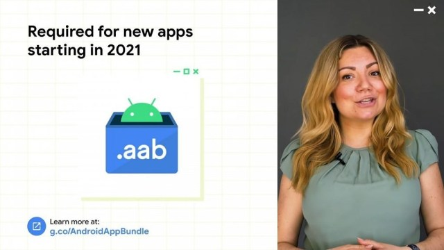 Google Android App Bundle requirement