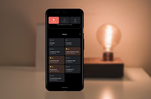android 11 smart home device controls google home